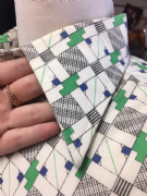 M Patterned Green Shirt